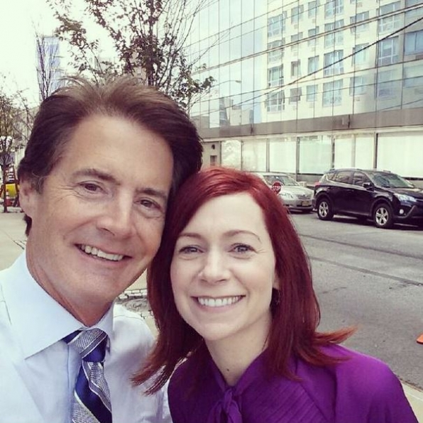 Carrie Preston and Kyle MacLachlan