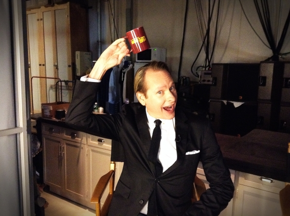 Carson Kressley - Behind the Scenes at The Late Late Show