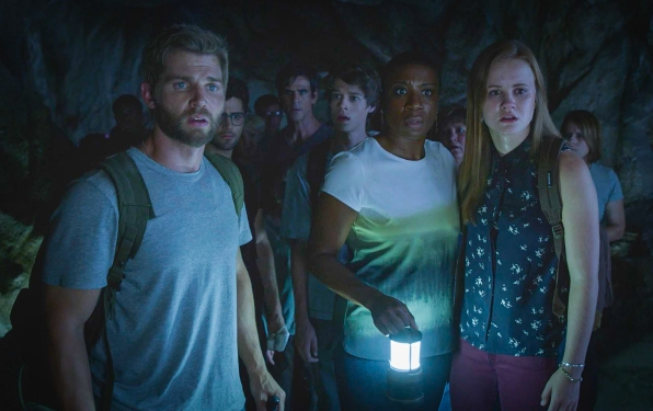"""33. Melanie appears in the light of the tunnel, telling everyone, """"Follow me. We're going home."""""""