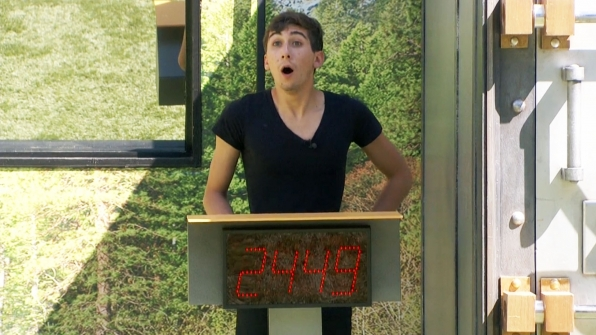 Jason wins the first Power of Veto competition