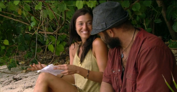 Which castaway gave his hidden immunity idol to a member of the opposing tribe?