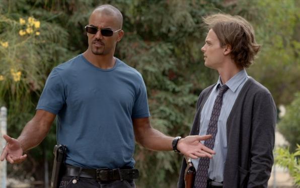 5. Morgan and Reid - Criminal Minds