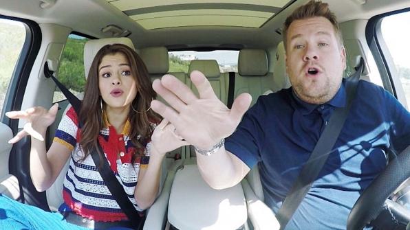 9. His Carpool Karaokes are always fun rides