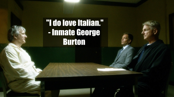 George Burton - <i>NCIS</i>