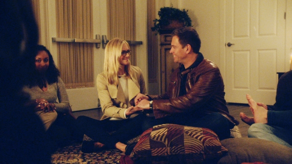 You were forced to go undercover and particpate in couple therapy with a coworker - NCIS
