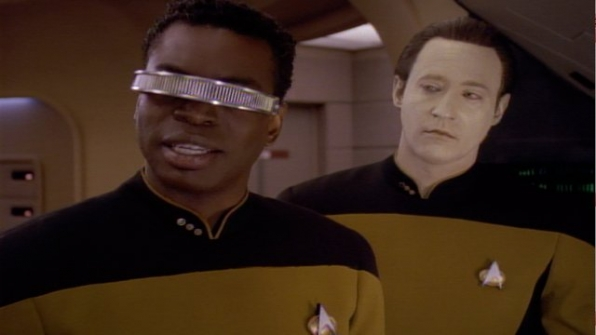 Main cast of characters to care about: Lieutenant Commander Geordi La Forge