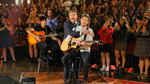 "Niall absolutely nailed his performance, ""This Town."""