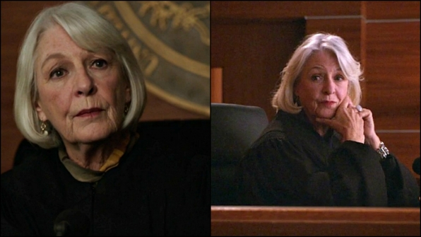 Jane Alexander as Judge Suzanne Morris