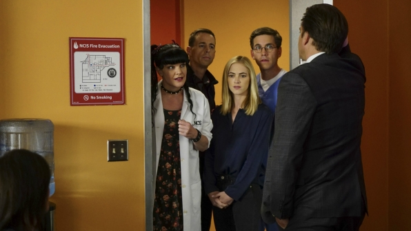 How will the team move forward after DiNozzo's departure on NCIS?