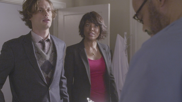 Spencer Reid and Tara Lewis investigate the case.