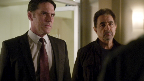 Hotch shares information with his colleagues.