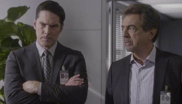 Hotch and Rossi hear more about the murders.