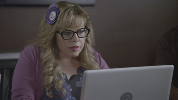 6. Penelope Garcia from Criminal Minds
