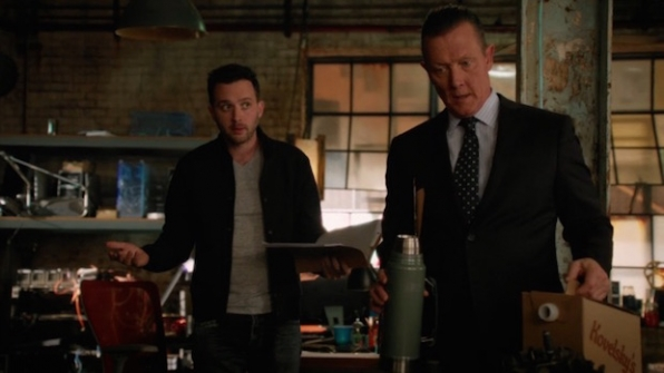 Scorpion: Toby vs. Cabe on giving up coffee