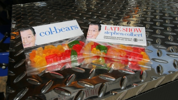 Colbert fans got a sugar rush