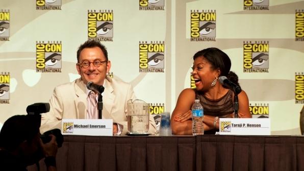 Person of Interest's Michael Emerson and Taraji P. Henson