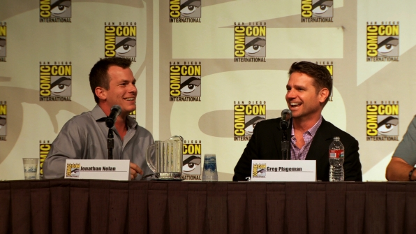 Jonathan Nolan and Greg Plageman