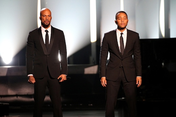 John Legend and Common Perform