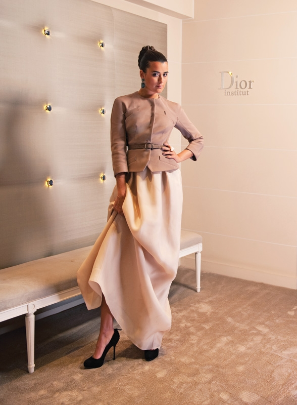 Cote Poses in the Dior Institute, the In-House Spa and Beauty Retreat at Hôtel Plaza Athénée Paris