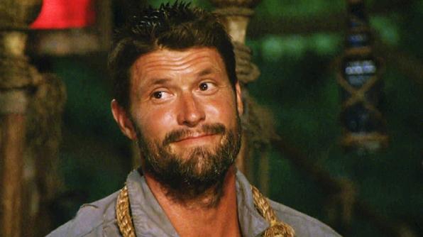 Mike's big move at tribal council. - <em>Survivor</em>