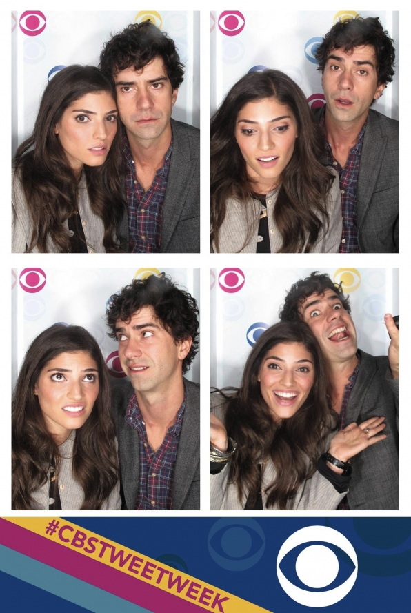 The Crazy Ones' Hamish Linklater and Amanda Setton