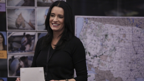 Emily Prentiss returned to the BAU to help with a case on Criminal Minds.