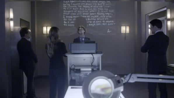 Spencer Reid was a human decoder ring on Criminal Minds.