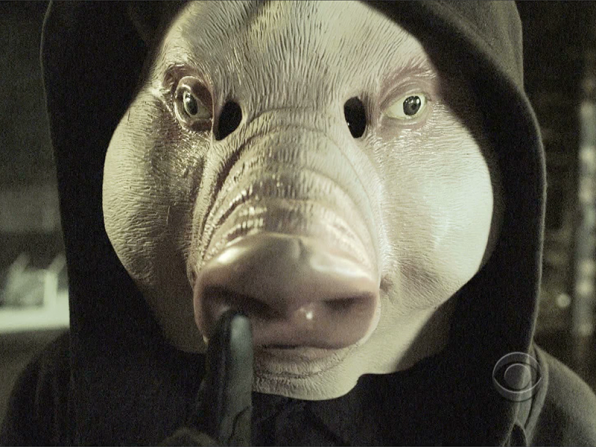 11. Pig mask