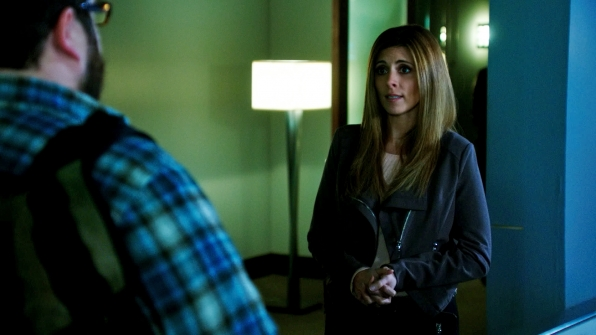 Charley Koontz as Daniel Krumitz and Jamie-Lynn Sigler as Sasha Boyd