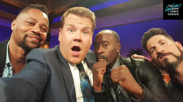 Cuba Gooding Jr., Don Cheadle and Jon Bernthal