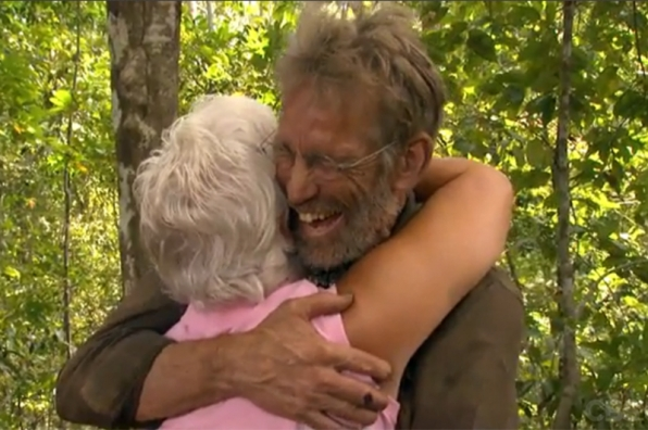 Season 17: Bob Crowley is reunited with his wife.