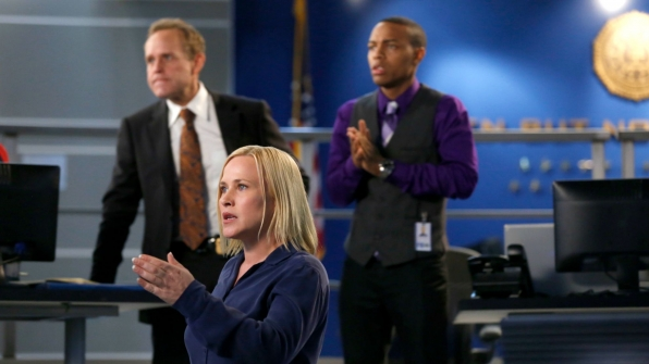 Dr. Avery Ryan on CSI: Cyber