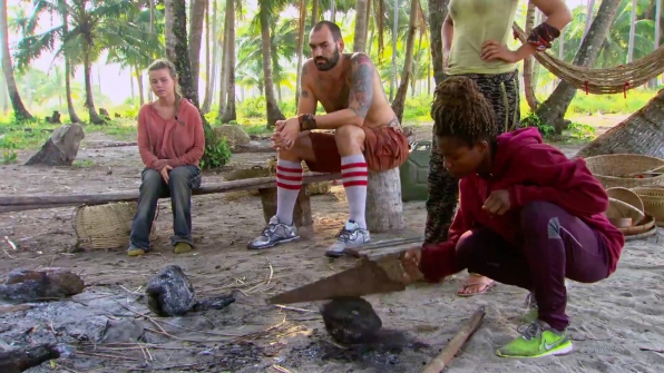 2. A power struggle around camp pushes Scot over the edge.
