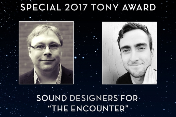 Gareth Fry & Pete Malkin win the 71st Special Tony Award for Sound Design