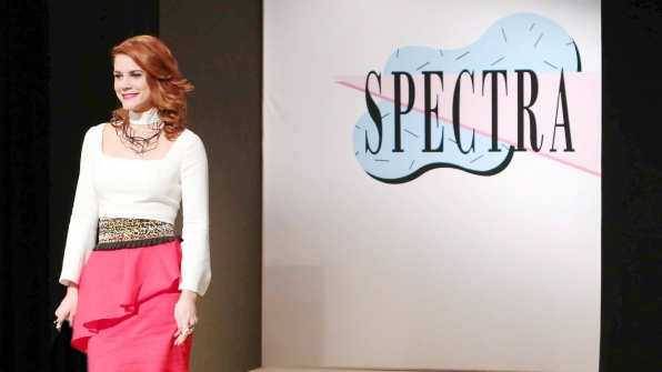 Sally Spectra stuns the fashion world with her newest collection.