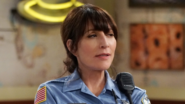 Katey Sagal from Superior Donuts