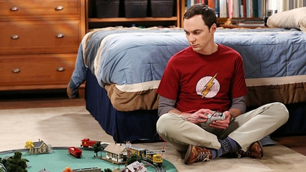 Sheldon Cooper's Flash logo shirt from The Big Bang Theory