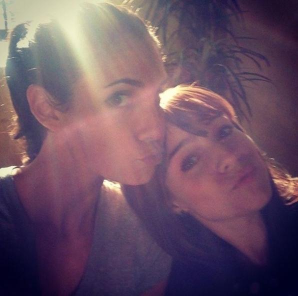8. NCIS: Los Angeles - Daniela Ruah and Renee Felice Smith