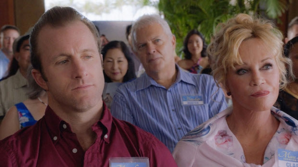 "Scott Caan as Danny ""Danno"" Williams and Melanie Griffith as Danny's mother, Clara"