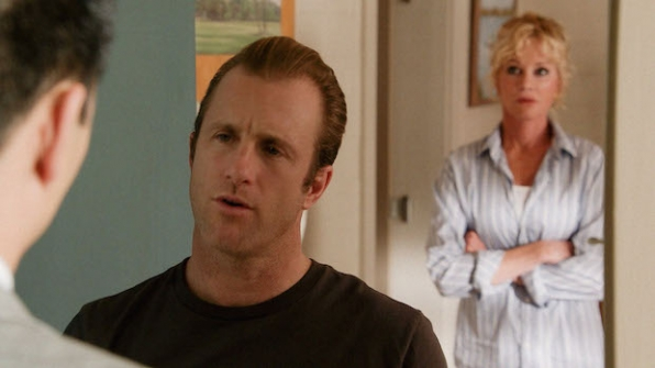 "Scott Caan as Danny ""Danno"" Williams and Melanie Griffith as Clara"