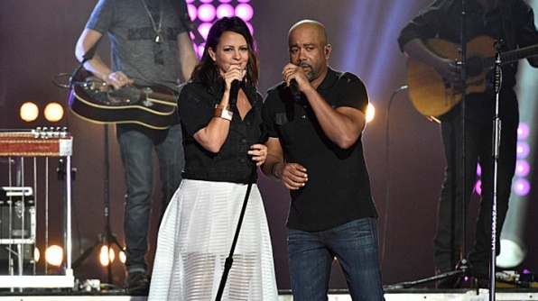Sara Evans and Darius Rucker
