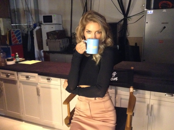 Dawn Olivieri - Behind the Scenes at The Late Late Show
