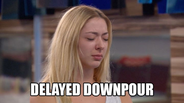 Liz goes into shock after Austin is sent home.