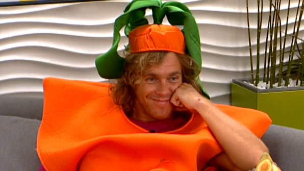 Frank Eudy's carrot costume