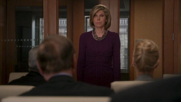 """Diane tells the Partners in """"The Last Call"""" S5E16"""