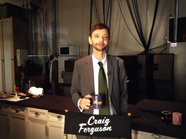 DJ Qualls - Behind the Scenes at The Late Late Show