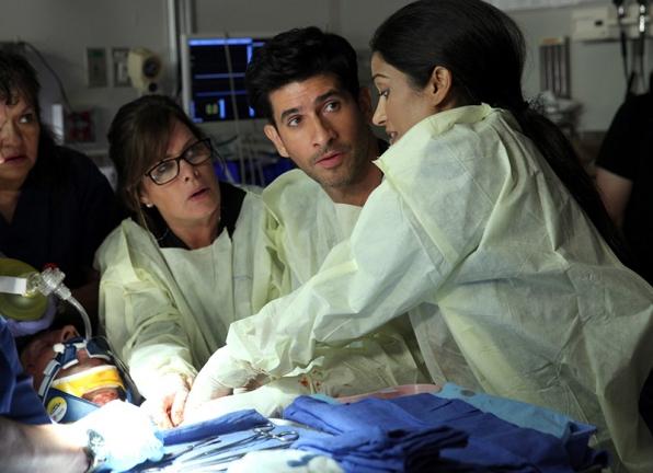 An emergency room doctor