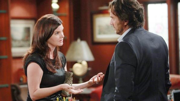 Ridge lies to Katie about Douglas' paternity.