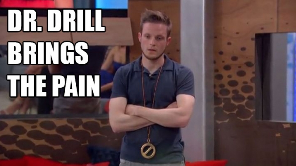 Johnny Mac wins the Power Of Veto.