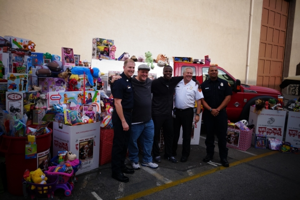Toys for Tots of the Studio Lot